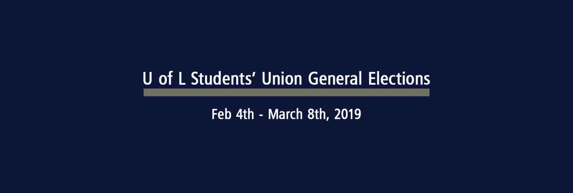 ULSU General Elections 2019